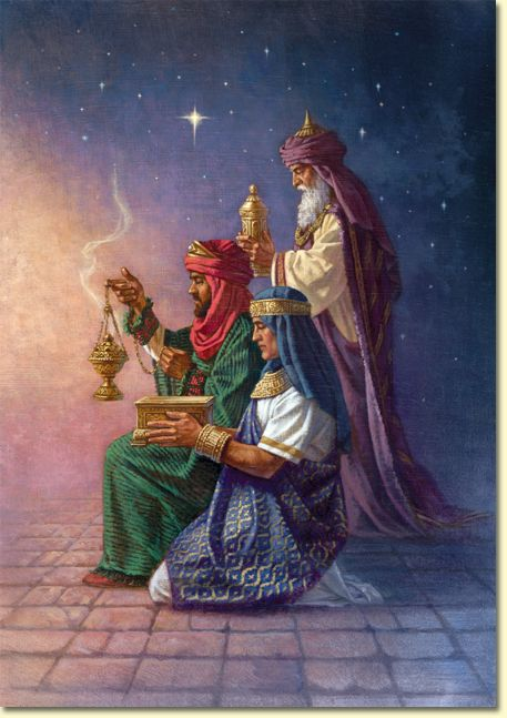 Christmas story nativity wise men gifts